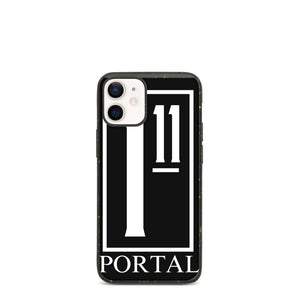 The Ascension High Fashion Street Portal Line Biodegradable IPhone Case