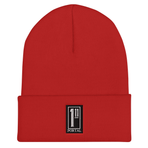 The Ascension High Fashion Street Portal Line Cuffed Beanie Yupoong