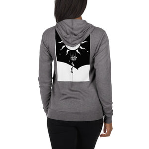 The Ascension High Fashion Street SUN GOD Lightweight Unisex Zip Hoodie