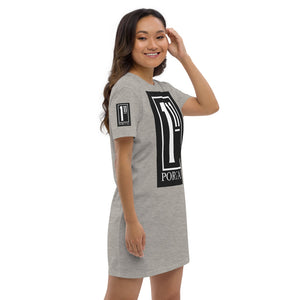 The Ascension High Fashion Street Portal Line Organic Cotton T-Shirt Dress Stanley/Stella