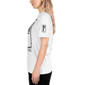 The Ascension High Fashion Street Portal Line Sustainable T-Shirt NEXT LEVEL