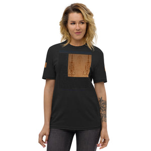The Ascension High Fashion Street Logos Line USA Unisex Recycled T-Shirt