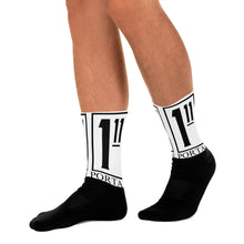 Load image into Gallery viewer, The Ascension High Fashion Street Portal Line Black Foot Sublimated Socks