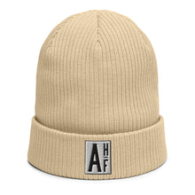 Load image into Gallery viewer, The Ascension High Fashion Street Logos Line Organic Ribbed Beanie Beechfield