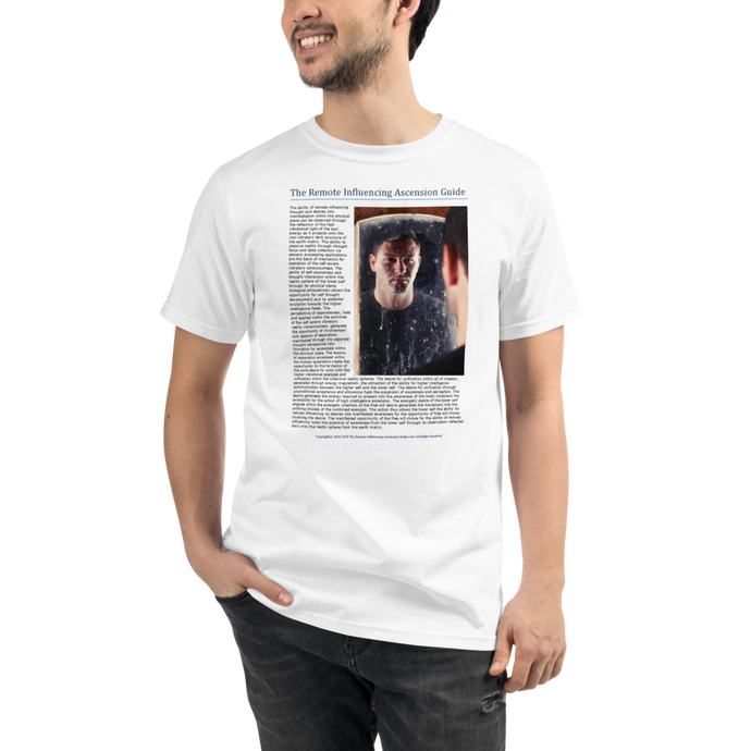 Remote Influencing And The Reflection - Men's T-Shirt