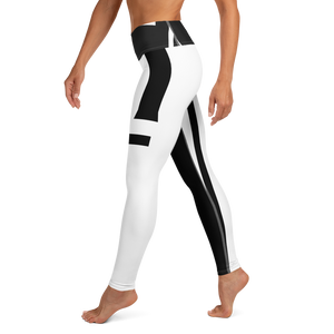 The Ascension High Fashion Street Portal Line Yoga Leggings