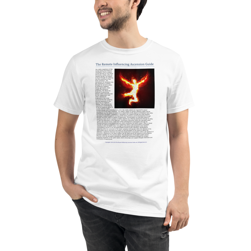The Portal Of Purification And The Flame Of Divinity -  Men's T-Shirt