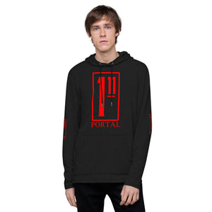 The Ascension High Fashion Street Portal Line Unisex Lightweight Hoodie District