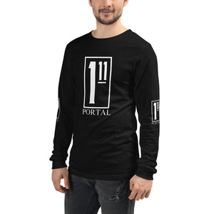 The Ascension High Fashion Street Portal Unisex long-sleeve Tee Bella+Canvas