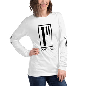 The Ascension High Fashion Street Portal Unisex Long Sleeve Tee Bella+Canvas