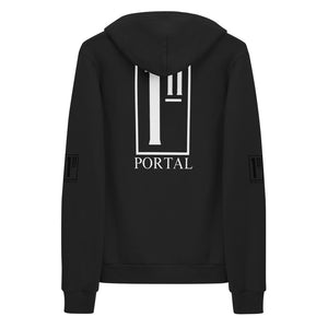 The Ascension High Fashion Street Portal Line Hoodie Sweater American Apparel