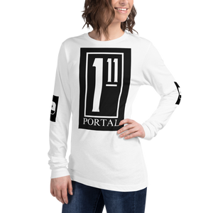 The Ascension High Fashion Street Portal Line Unisex Long Sleeve Tee