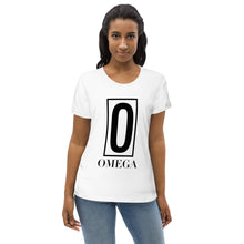 Load image into Gallery viewer, The Ascension High Fashion Street Omega Women's Fitted Eco Tee