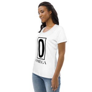 The Ascension High Fashion Street Omega Women's Fitted Eco Tee