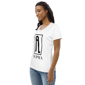 The Ascension High Fashion Street Alpha Women's Fitted Eco Tee