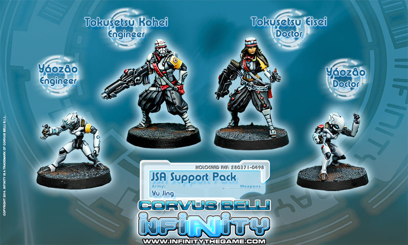 Yu Jing: JSA Support Pack