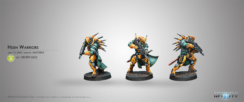 Yu Jing: Hsien Warriors (Multi Rifle)