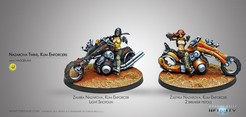 Haqqislam: The Nazarova Twins, Kum Enforcers