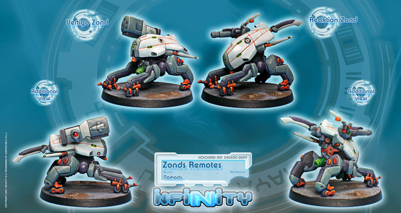 Nomads: Zonds Remotes (2) BOX