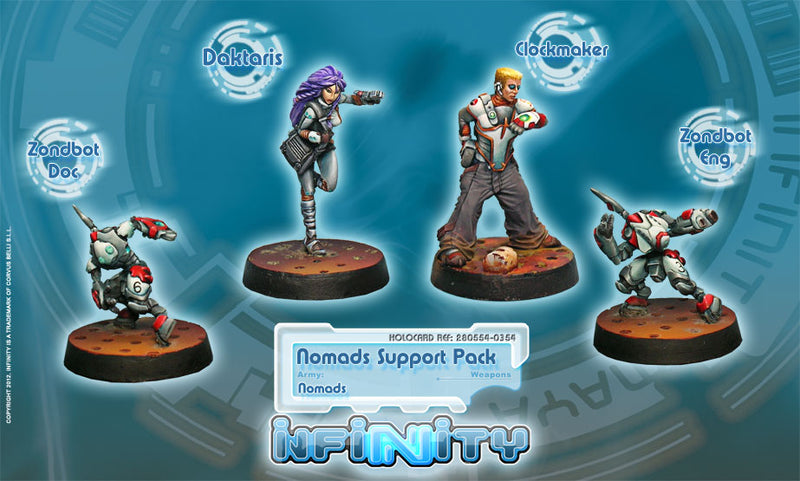 Nomads: Support Pack