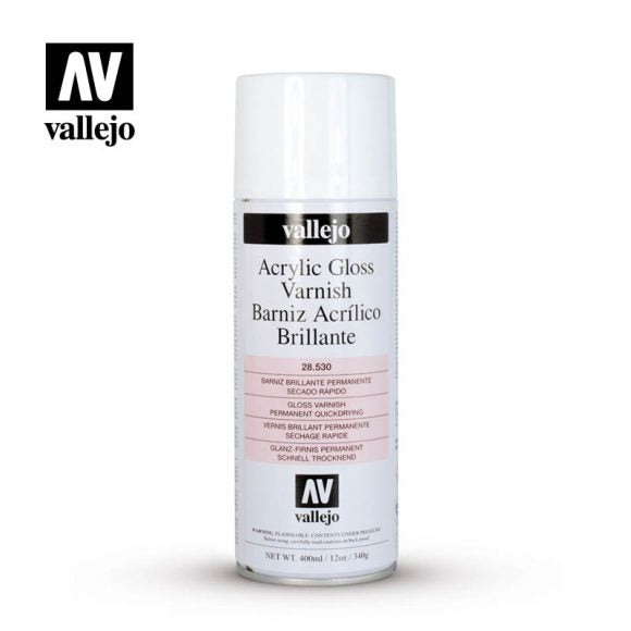 Vallejo Acrylic Gloss Spray Varnish