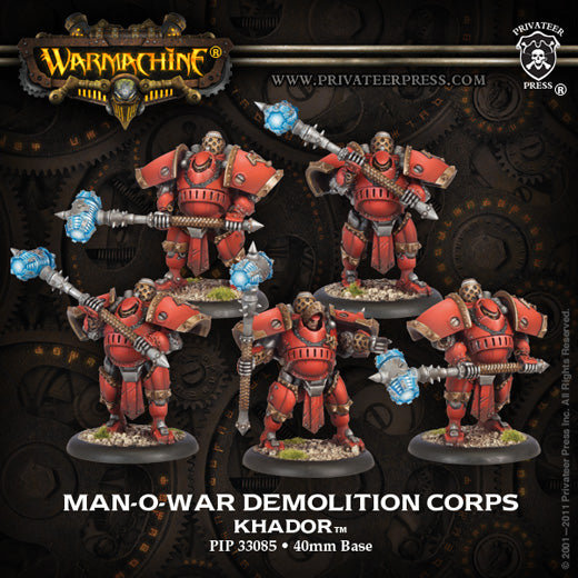Khador: Man-O-War Demolition Corps Unit