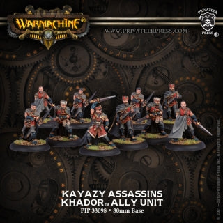 Khador: Kayazy Assassins Unit (10 models)