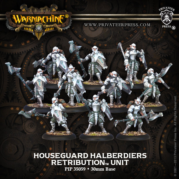 Retribution: Houseguard Halberdiers (10 Plastic Models)