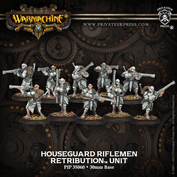Retribution: Houseguard Riflemen (10 Plastic Models)