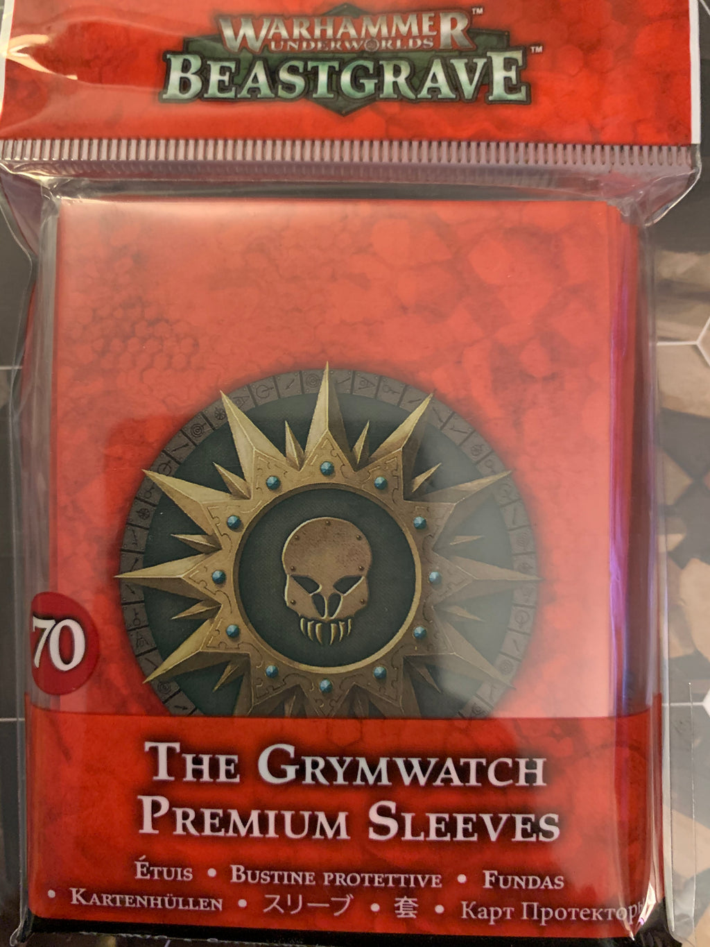 Warhammer Underworlds: The Grymwatch Sleeves