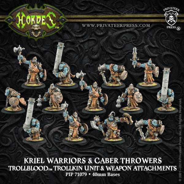 Trollbloods: Kriel Warriors & Caber Throwers