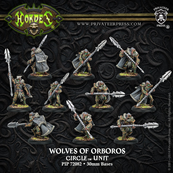 Hordes: Circle of Orboros Token Set