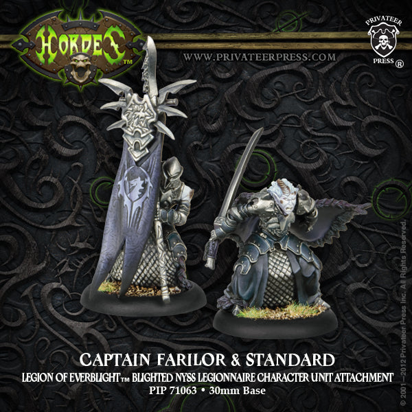 Legion: Captain Farilor & Standard