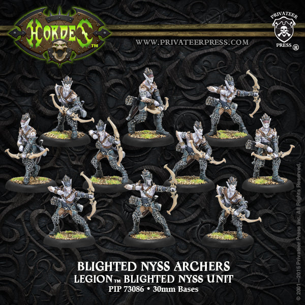 Legion: Blighted Nyss Archers/Swordsmen