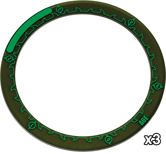 "Hordes: 4"" Area of Effect Rings"