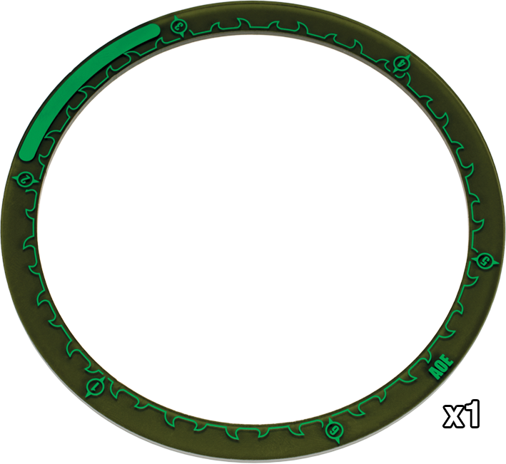 "Hordes: 5"" Area of Effect Rings"