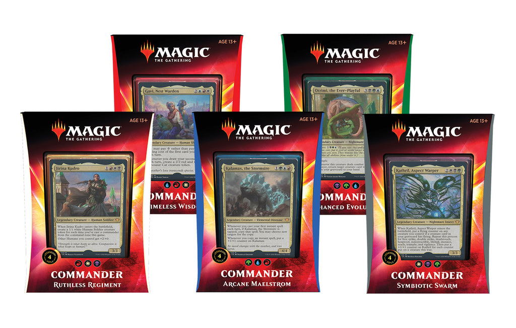 Commander 2020: Set of 5