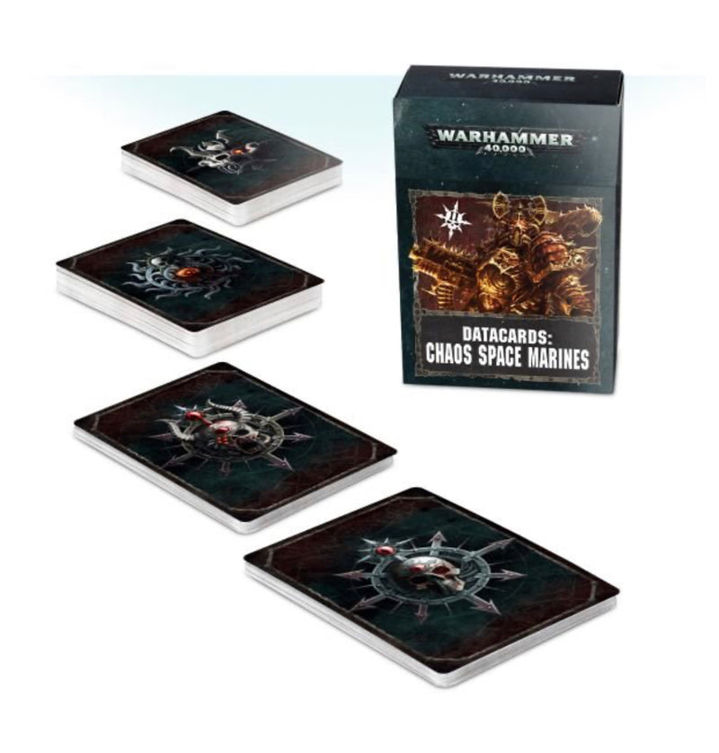 Chaos Marines: Data Cards