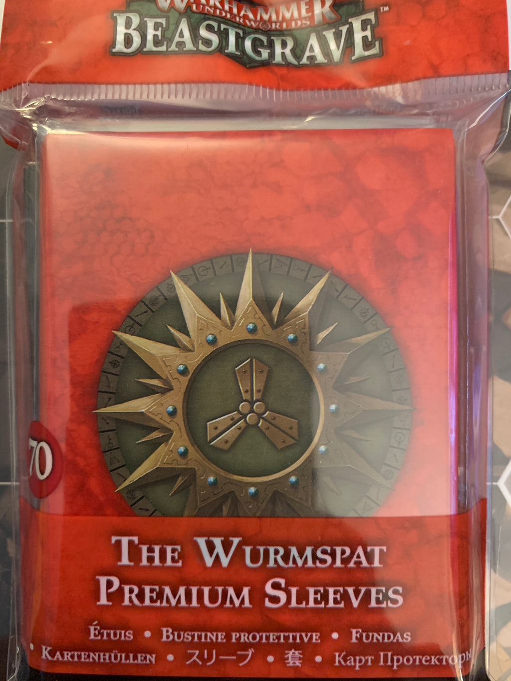 Warhammer Underworlds: The Wurmspat Sleeves