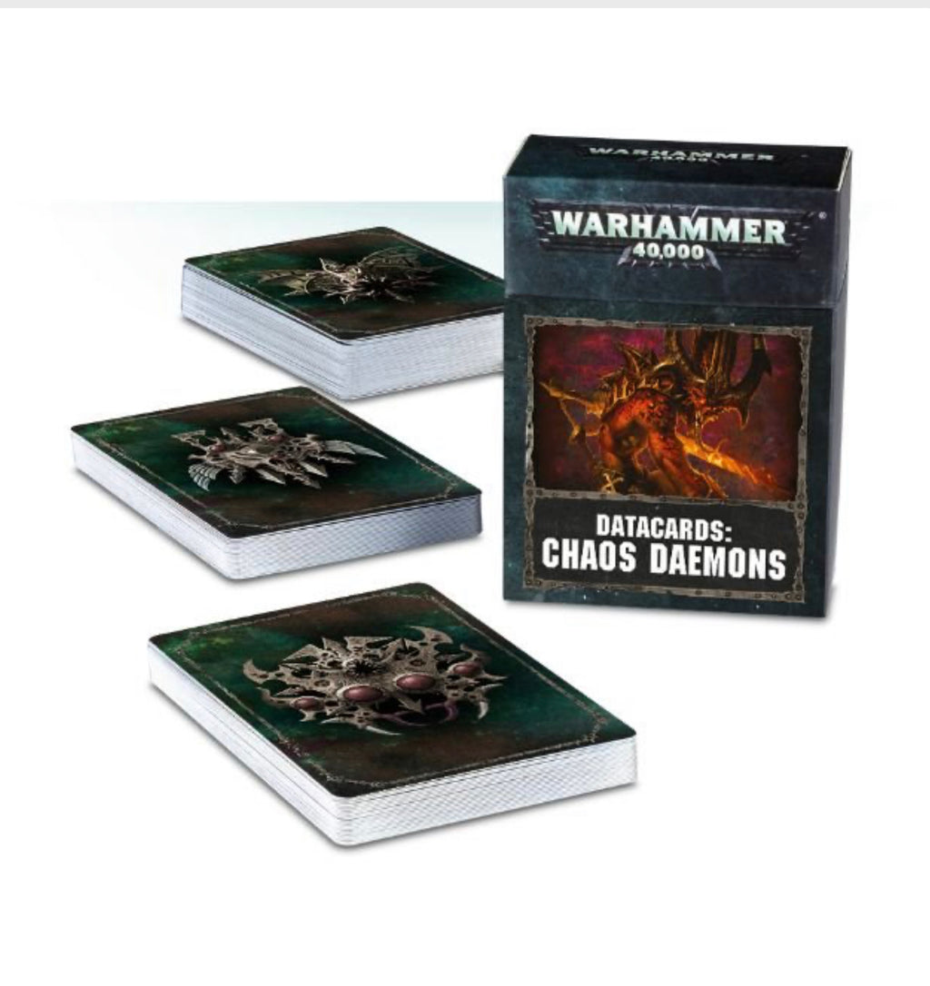 Chaos Daemons: Data Cards