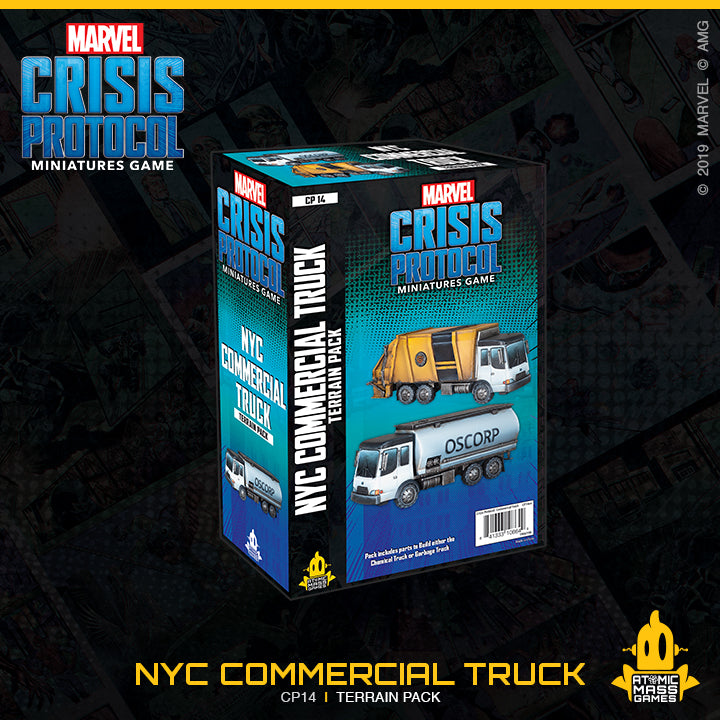 Crisis Protocol: NYC Commercial Truck Terrain Pack