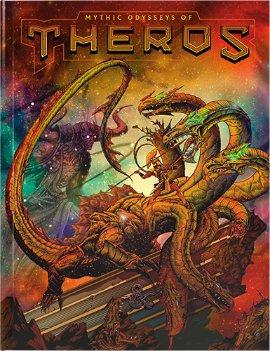 Dungeons & Dragons: Mythic Odysseys Of Theros Alt Cover