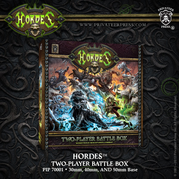 Hordes: Two Player Battle Box