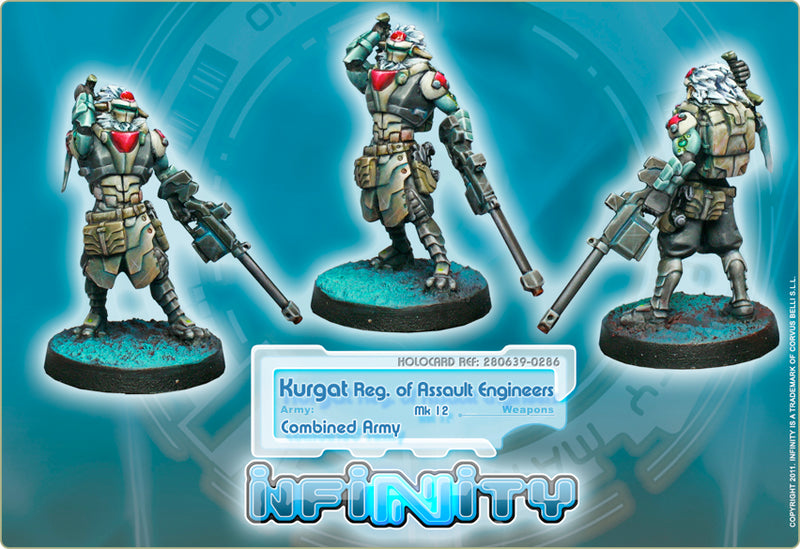 Combined Army: Kurgat Reg. of Assault Engineers (Mk12, D-Charges