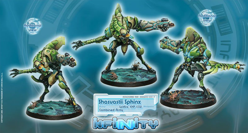 Combined Army: Shasvastii Armored Corps Sphinx BOX