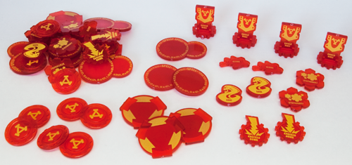 Warmachine: Khador Token Set