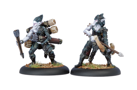 Legion: Blighted Archer Officer & Ammo Porter