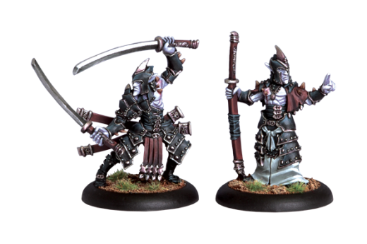 Legion: Blighted Swordsmen Abbot & Champion