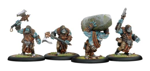 Trollbloods: Krielstone Bearer and Scribes