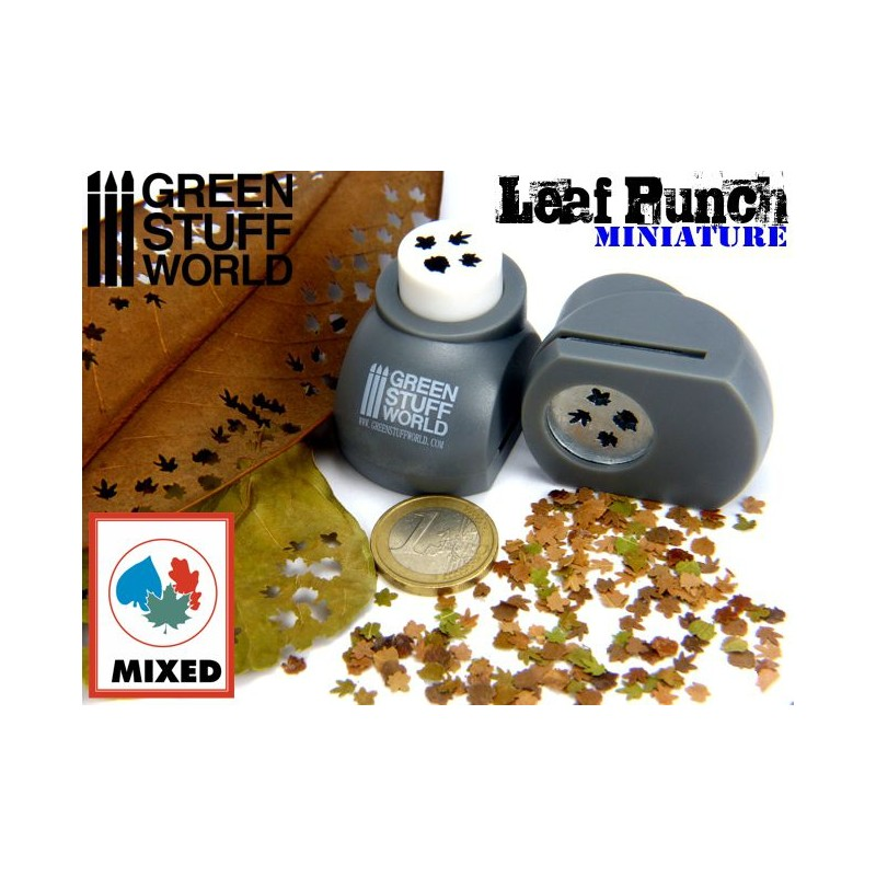 Green Stuff World: Leaf Punch Grey